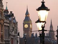 Вид на Биг-Бен с Трафальгарской площади, Лондон