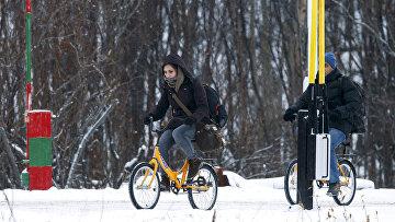 Мигранты пересекают границу России и Норвегии на велосипедах