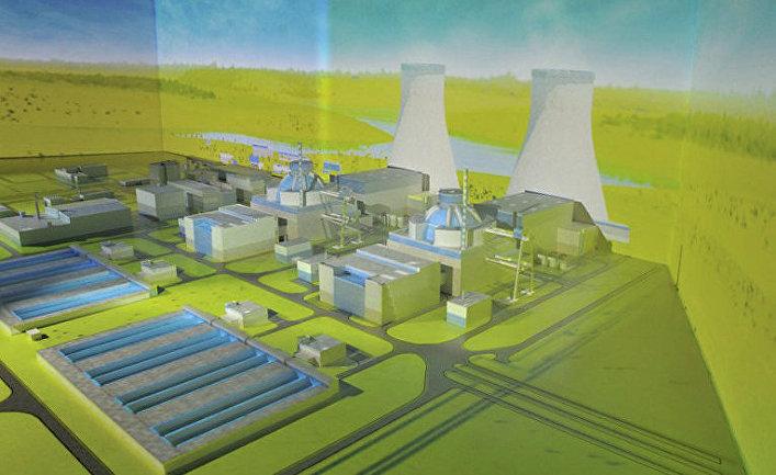 Макет турецкой АЭС «Аккую»