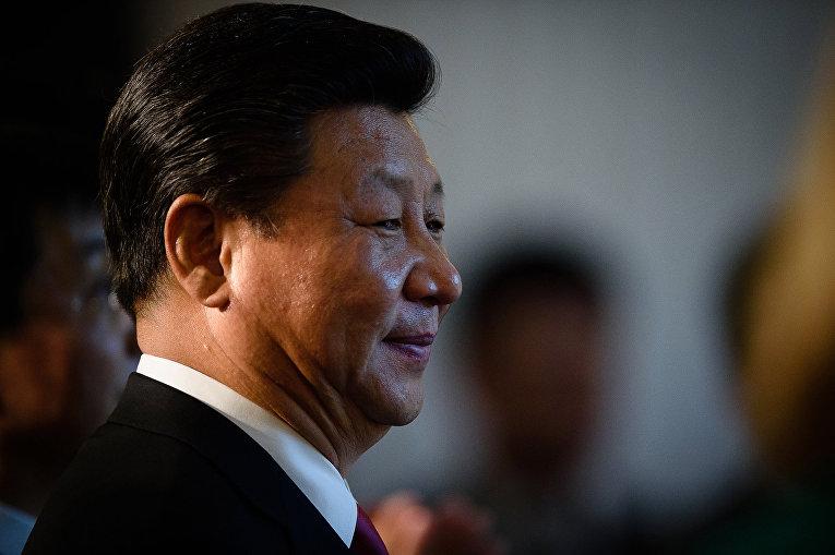 Председатель КНР Си Цзиньпин во время визита в Великобританию