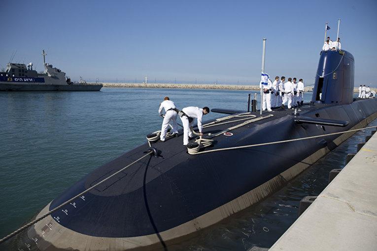 Израильский подводный флот призван нанести ответный ядерный удар