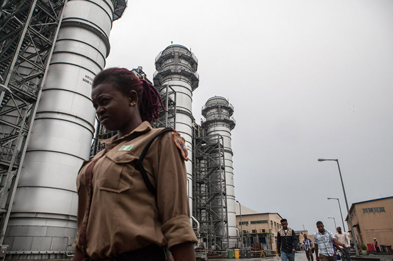Электростанция Afam VI в Нигерии
