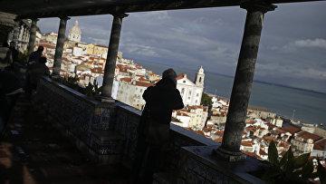 Вид на Лиссабон, Португалия