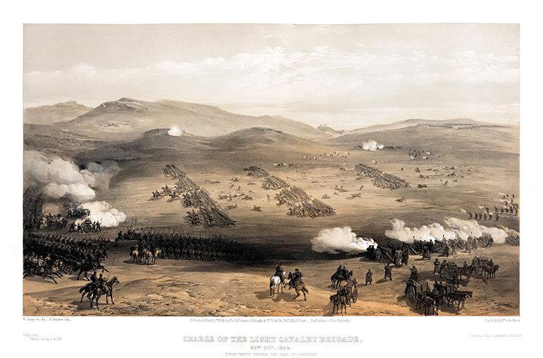 Уильям Симпсон «Атаки бригады легкой кавалерии»