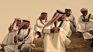 Оманцы в пустыне