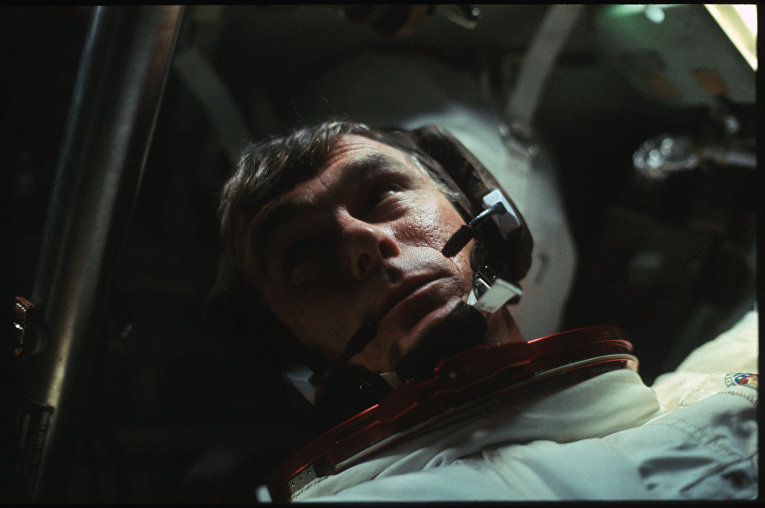 Миссия «Аполлона-17»: астронавт Юджин Сернан