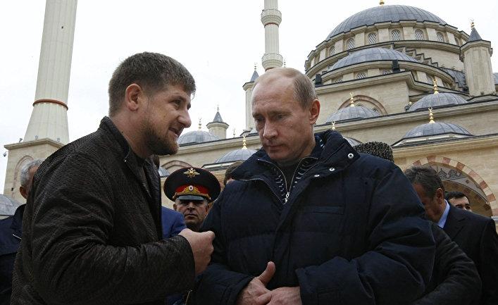 Image result for путин кадыров