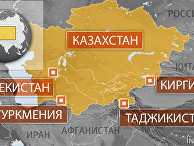 Карта Центральной Азии