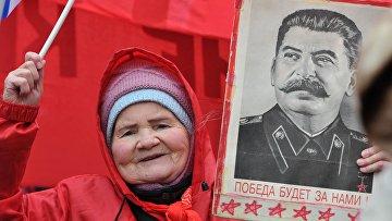 Шествие и митинг КПРФ, приуроченные к Дню защитника Отечества