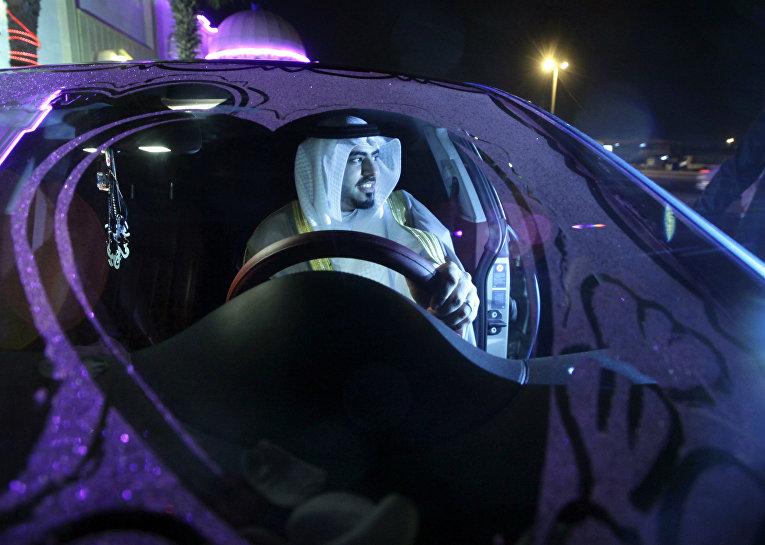 Водитель в Саудовской Аравии