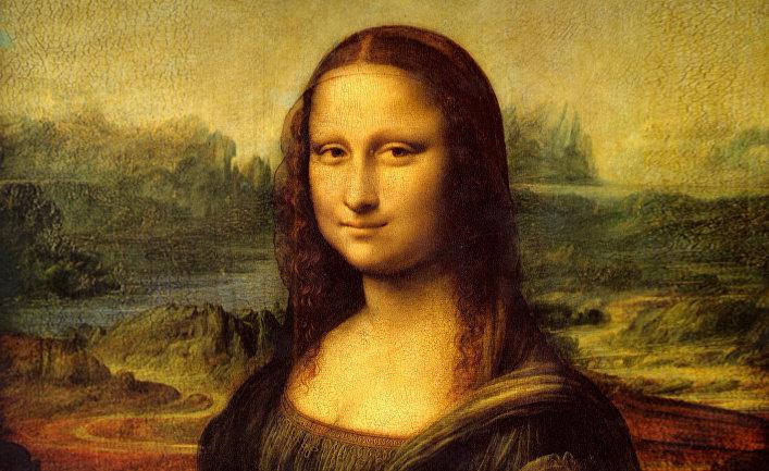 "Картина Леонардо да Винчи ""Мона Лиза"""