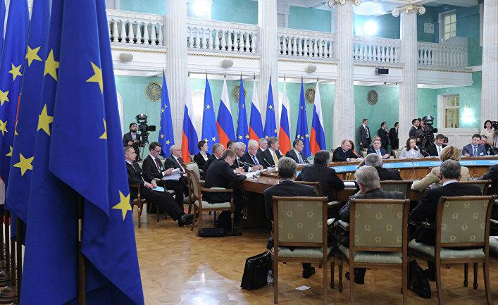 Встреча на высшем уровне Россия- Европейский союз