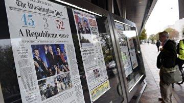 Первые полосы американских газет