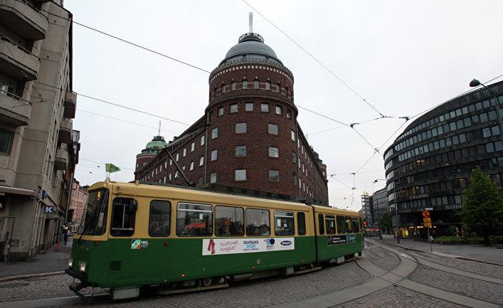 В центре Хельсинки