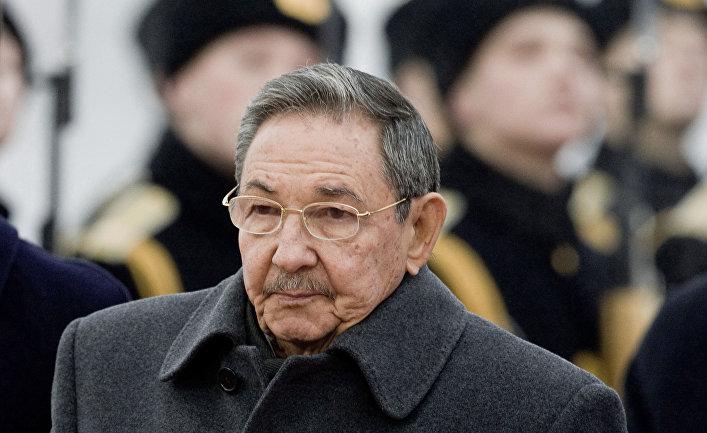 Председатель Государственного Совета и Совета министров Республики Куба Рауль Кастро прибыл в Москву с официальным визитом