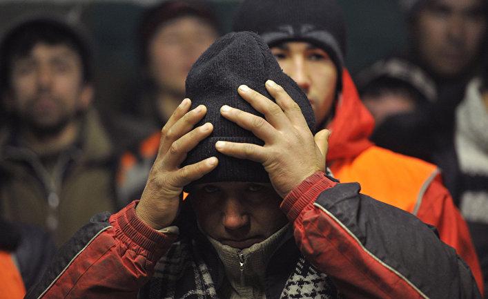 Рейд ФМС по выявлению нелегальных иммигрантов