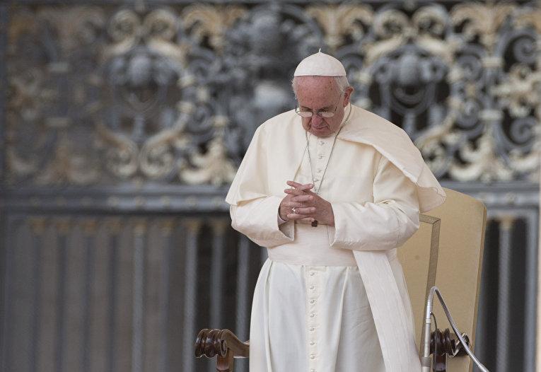 Аудиенция папы Франциска на площади Святого Петра