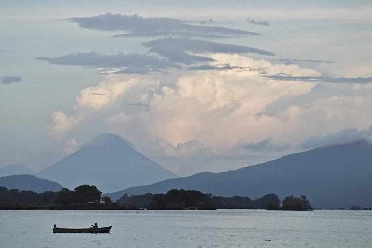 Озеро Никарагуа в Никарагуа