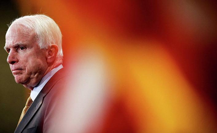 Сенатор США Джон Маккейн