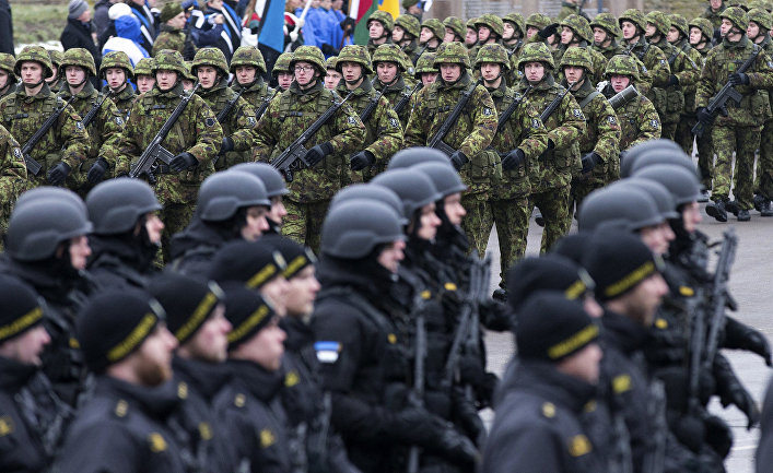 ВЭстонии разглядели угрозу конституционному строю состороны Российской Федерации