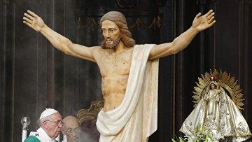Статуя Иисуса Христа в Гаване, Куба