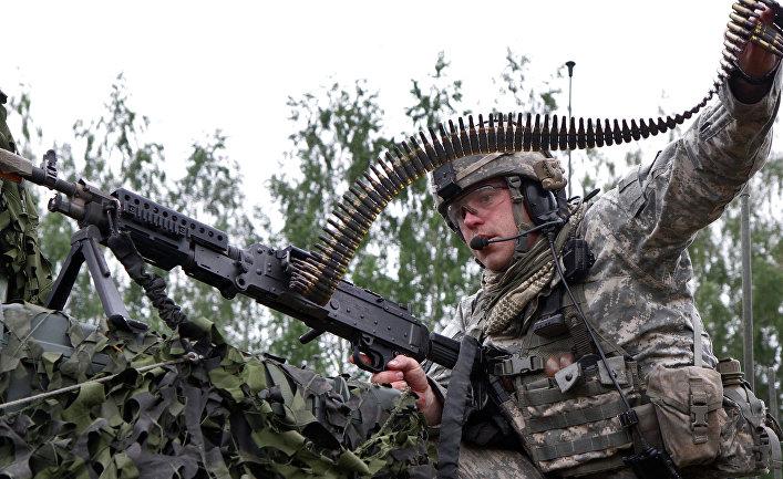Военные учения войск НАТО в Литве