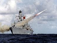 Английский фрегат HMS Iron Duke