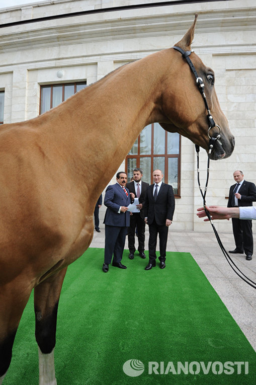 Встреча президента РФ Владимира Путина с королём Бахрейна Хамадом бен Исой аль-Халифой