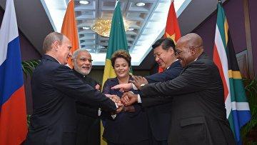 Лидеры стран-членов БРИКС на саммите «Группы двадцати»