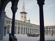 Древняя мечеть Омеядов в Дамаске, Сирия
