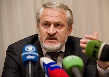Ахмед Закаев на пресс конференции в Лондоне