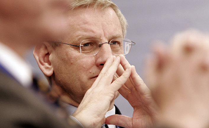 Бывший министр иностранных дел Швеции Карл Бильдт