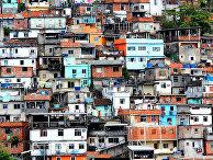 Фавела в Рио-де-Жанейро