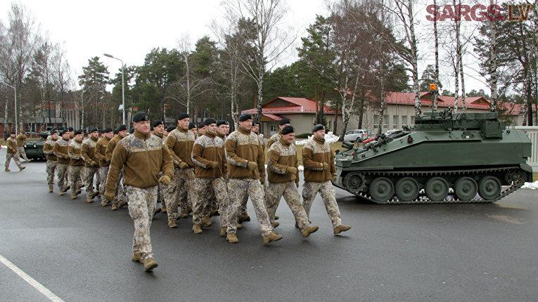 Боевая подготовка на базе Адажи, Латвия