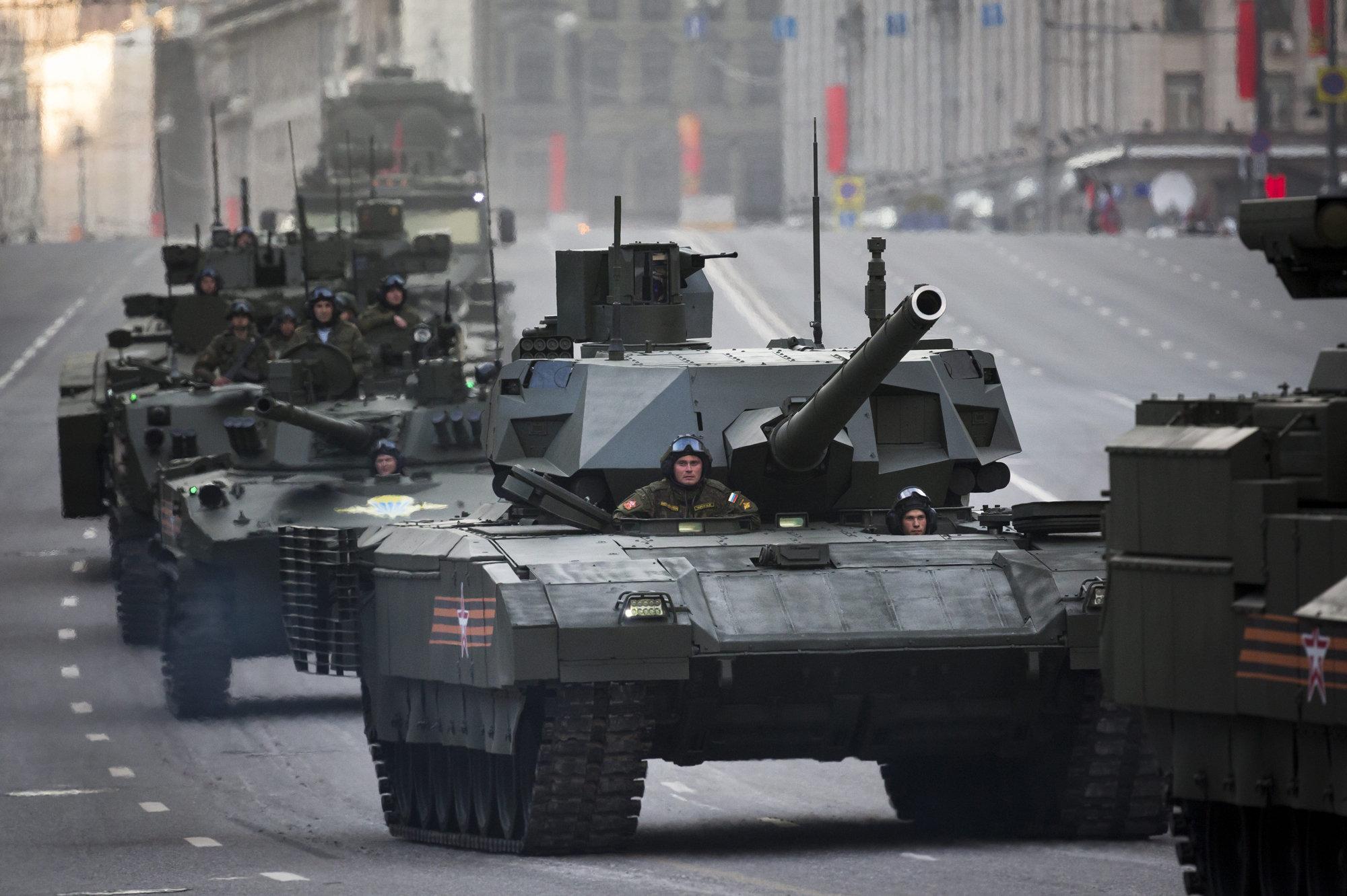 Как Пентагон готовится к танковой войне с Россией