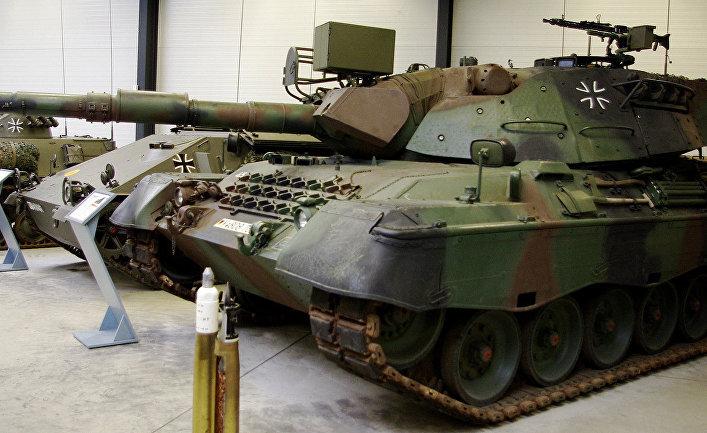 "Немецкий танк ""Леопард-1"""