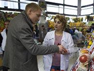 Томаты на Дорогомиловском рынке в Москве