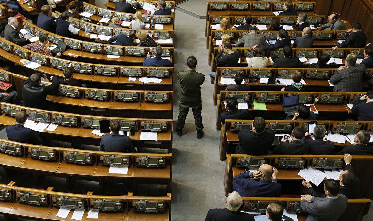 Внеочередное заседание Верховной рады Украины
