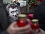 Место гибели Бориса Немцова