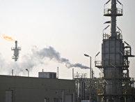 Предприятие по обработке и хранению газа в городе Ком, Иран