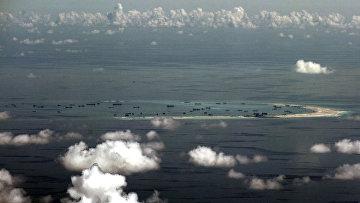 Острова Спратли в Южно-Китайском море