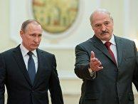 Заседание Высшего Государственного Совета Союзного государства России и Белоруссии