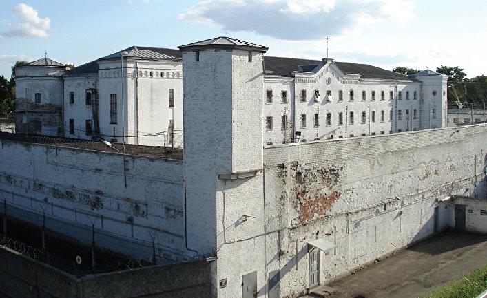 Тюрьма «Белый лебедь» в Даугавпилсе, Латвия