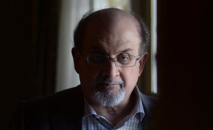 Британский писатель Салман Рушди
