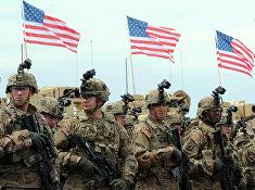 Американские военные во время американско-грузинских учений