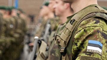 Эстонские солдаты