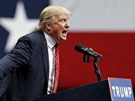 Кандидат в президенты от Республиканской партии Дональд Трамп в Далласе, Техас, США