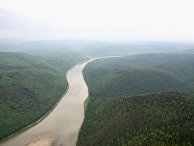 Вид на реку Большой Пит