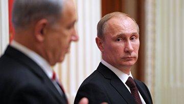 В.Путин встретился с Б.Нетаньяху
