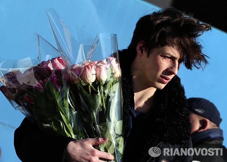 Продажа цветов в преддверии Международного женского дня
